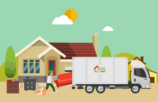 Household goods shifting From Indirapuram to Pune